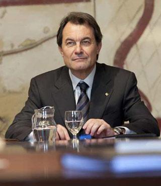 Toma de posesión del nuevo gobierno de la Generalitat, presidido por Artur Mas.ARNAU BACH