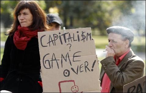 Las protestas también han llegado hasta Bucarest, en Rumania.-
