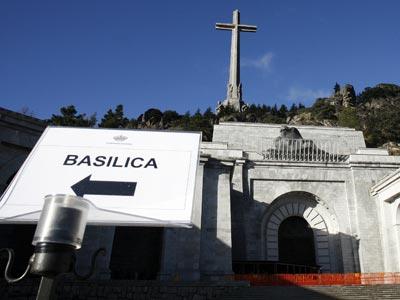 Entrada a El Valle de los Caídos.