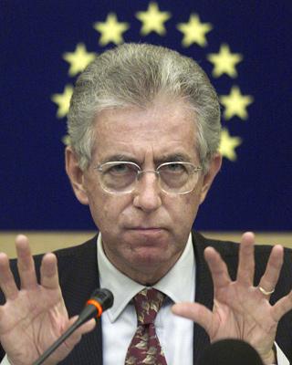 Mario Monti apunta a suceder a Berlusconi al frente del Gobierno italiano.