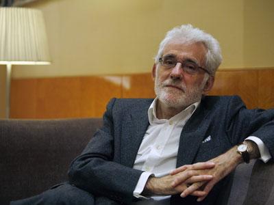 Ángel González, la semana pasada, en Madrid.-