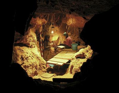 Yacimiento neandertal de El Sidrón (Asturias). EFE