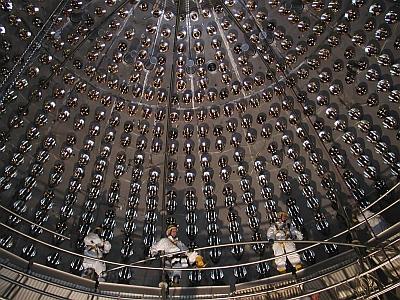 Detector de neutrinos en el laboratorio del Gran Sasso. PRINCETON
