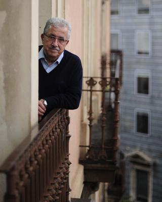 Josep Fontana, en Barcelona, esta semana.- Manu Fernández