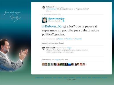 Captura del tuit.