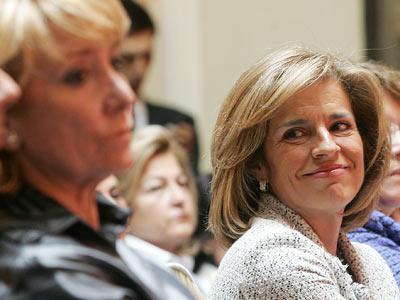 Aguirre y Botella, las 'lideresas' de Madrid