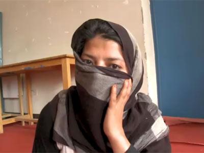 Gulnaz fue acusada de 'adulterio forzado'.