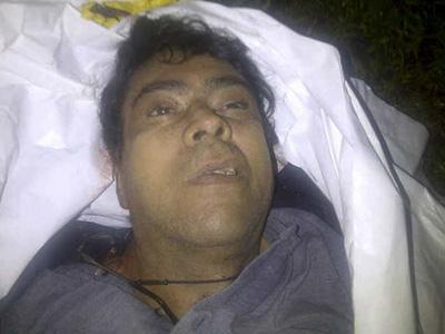 Foto del cadáver de Alfonso Cano, abatido por el ejército colombiano