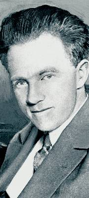 El científico alemán Werner Heisenberg. afp