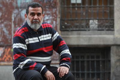Azeez, durante su reciente visita a Madrid.-MIGUEL GARCÍA CASTRO