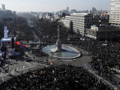 Los obispos volverán a celebrar una multitudinaria misa en el centro de Madrid.