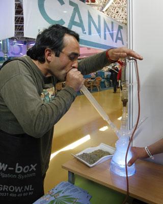Feria del cannabis.