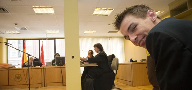 Pablo Soto, durante el juicio. PÚBLICO.