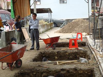 Una imagen de las excavaciones realizadas hasta ahora.