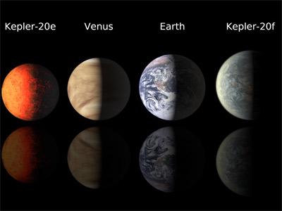 Los planetas hallados tienen un tamaño similar a la Tierra. AP