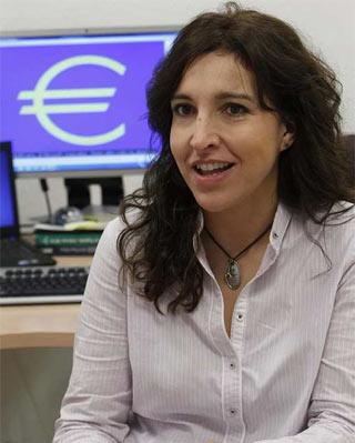 La portavoz de la OCU, Ileana Izverniceanu - EFE