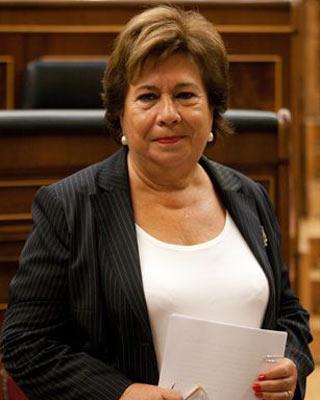 La defensora del Pueblo, María José Cuevas.-