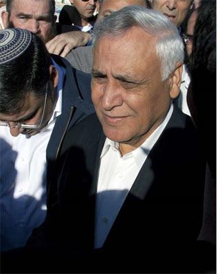El ex presidente israelí, Kartsav - EFE