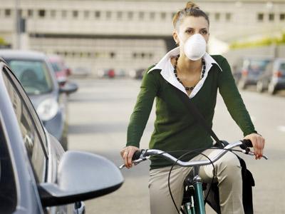 Los coches aportan la mayor parte de la polución.JUPITER