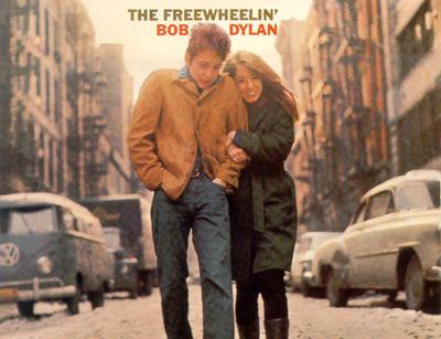 Portada del disco que reflejó la relación de Bob Dylan y Suze Rotolo.