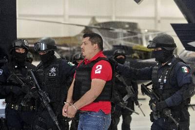 Agentes de la Policía Federal  detuvieron a Marcos Carmona Hernández, alias 'El Cabrito', de 29 años, presunto líder del cartel de las drogas de Los Zetas en el sureño estado mexicano de Oaxaca.