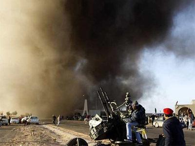 Enfrentamientos en Libia este lunes. REUTERS