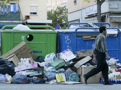 Acumulaci�n de desperdicios. clickartfoto
