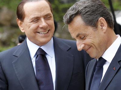 Italia y Francia sacarán buenos beneficios de su apoyo a la intervención contra Gadafi.