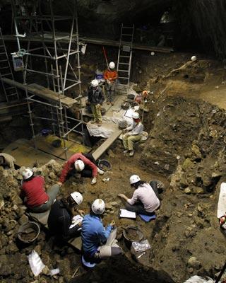 Uno de los yacimientos de Atapuerca, en una foto de archivo. AFP