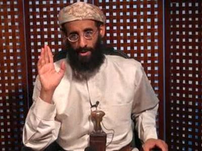 Anwar al-Awlaki durante un discurso televisado. /AP
