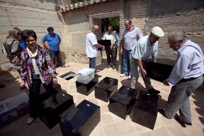 El Ayuntamiento de Alhendín dio sepultura digna hace una semana a ocho personas represaliadas. arsenio zurita