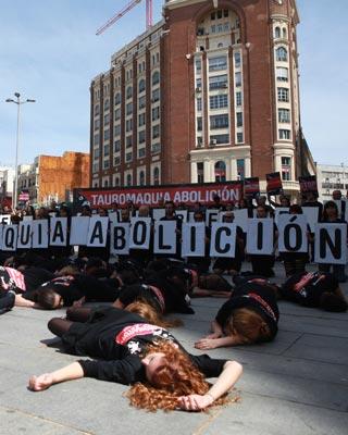 Protesta antitaurina del año pasado.