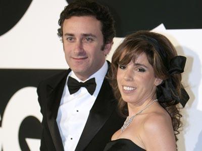 Agag y su esposa, Ana Aznar.