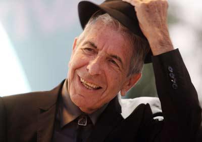 Leonard Cohen ha agradecido el Príncipe de Asturias otorgado ayer. EFE