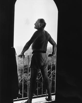 El escritor Ernest Hemingway, en 1954.