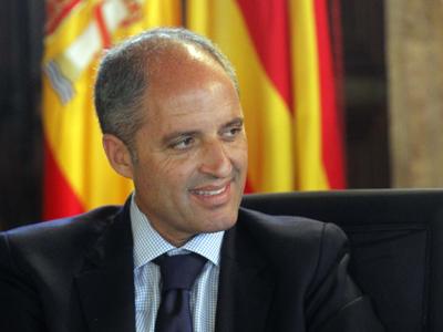 El president valenciano, Francisco Camps. Juan navarro