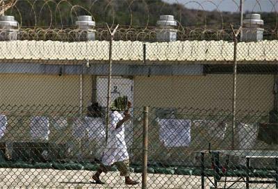 Imagen del interior de la cárcel de Guantánamo. REUTERS