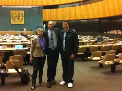 Portavoces de la ILGA en las Naciones Unidas, en Génova