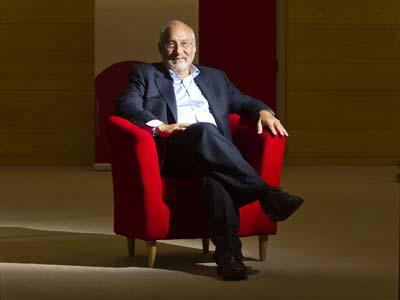 Joseph Stiglitz, ayer en la Fundación Ideas.-