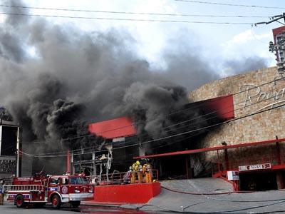Un grupo de sicarios ha atacado este casino de Monterrey (México)