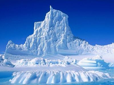Un iceberg del Ártico.