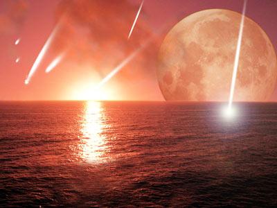 Bombardeo de asteroides en la Tierra temprana. d. a. aguilar/harvard-smithsonian