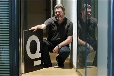 Juantxo López de Uralde, el pasado 31 de mayo en la sede de Equo, en Madrid.