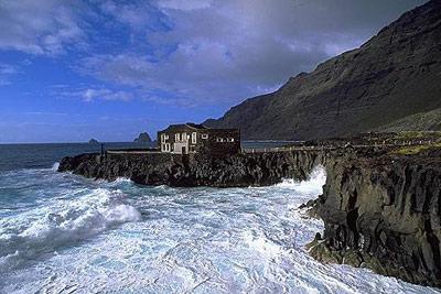La isla de El Hierro.