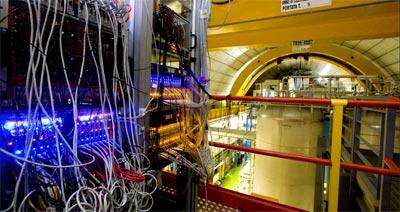 Imagen del detector Opera, en el Gran Sasso. reuters