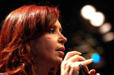 'Estamos muy contentos de estar inaugurando este nuevo espacio en un país que sufrió mucha agresión cultural de todo tipo', señaló la presidenta argentina, Cristina Fernández, durante el acto de presentación oficial del museo. EFE/Archivo
