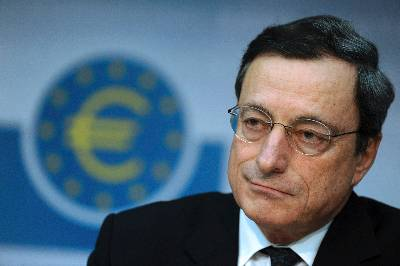 El presidente del Banco Central Europeo (BCE), Mario Draghi. EFE/Archivo