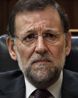 Rajoy, en el Congreso. AP (Daniel Ochoa de Olza)