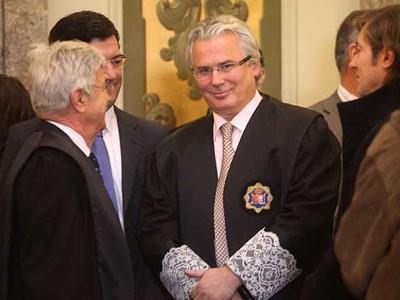 Baltasar Garzón, el martes en el Tribunal Supremo.
