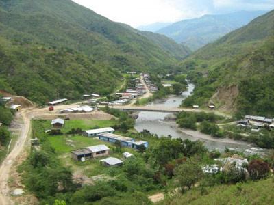Frontera peruana.